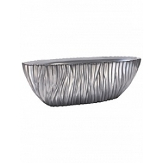 Кашпо Fleur Ami River table top planter aluminium Длина — 75 см