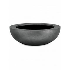 Кашпо Fleur Ami Royal boat titanium grey, серого цвета  Диаметр — 42 см