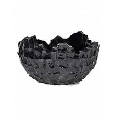 Кашпо Fleur Ami Shell black, чёрного цвета  Диаметр — 70 см