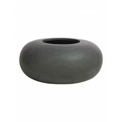 Кашпо Fleur Ami Donut anthracite, цвет антрацит  Диаметр — 40 см