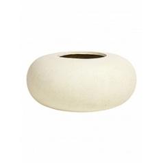 Кашпо Fleur Ami Donut cream, кремового цвета  Диаметр — 40 см