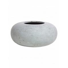 Кашпо Fleur Ami Donut grey, серого цвета  Диаметр — 40 см