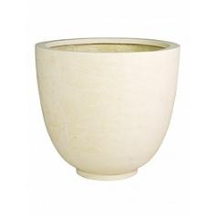 Кашпо Fleur Ami Ego giant cream, кремового цвета  Диаметр — 70 см