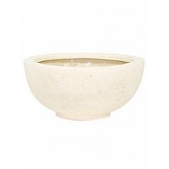 Кашпо Fleur Ami Ego plus cream, кремового цвета  Диаметр — 40 см