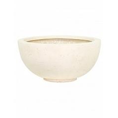 Кашпо Fleur Ami Ego plus cream, кремового цвета  Диаметр — 50 см