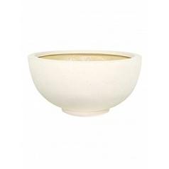 Кашпо Fleur Ami Ego plus cream, кремового цвета  Диаметр — 80 см