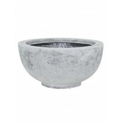 Кашпо Fleur Ami Ego plus grey, серого цвета  Диаметр — 40 см