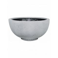 Кашпо Fleur Ami Ego plus grey, серого цвета  Диаметр — 80 см