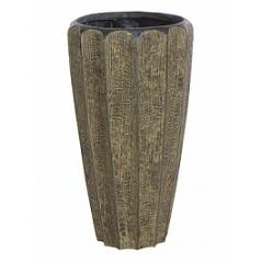 Кашпо Fleur Ami Firewood brown, коричнево-бурого цвета  Диаметр — 38 см