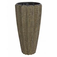 Кашпо Fleur Ami Firewood brown, коричнево-бурого цвета  Диаметр — 49 см
