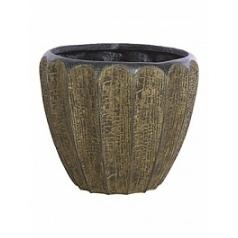 Кашпо Fleur Ami Firewood brown, коричнево-бурого цвета  Диаметр — 42 см