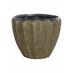 Кашпо Fleur Ami Firewood brown, коричнево-бурого цвета  Диаметр — 51 см