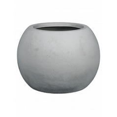 Кашпо Fleur Ami Globe grey, серого цвета  Диаметр — 60 см