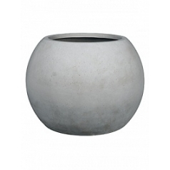 Кашпо Fleur Ami Globe grey, серого цвета  Диаметр — 80 см