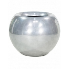 Кашпо Fleur Ami Glory ball aluminium  Диаметр — 60 см