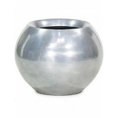 Кашпо Fleur Ami Glory ball aluminium  Диаметр — 45 см