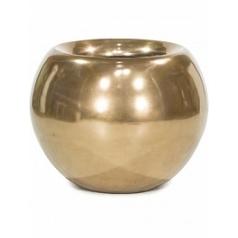 Кашпо Fleur Ami Glory ball bronze, бронзового цвета  Диаметр — 60 см
