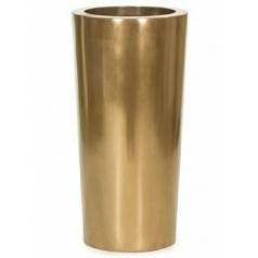 Кашпо Fleur Ami Glory switch bronze, бронзового цвета  Диаметр — 40 см