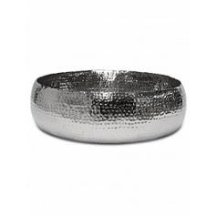Кашпо Fleur Ami Hoop bowl polished aluminium  Диаметр — 52 см