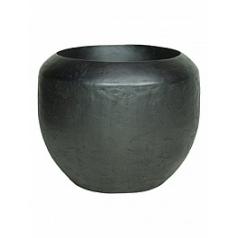 Кашпо Fleur Ami Loft black, чёрного цвета iron  Диаметр — 50 см