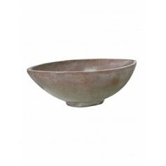 Кашпо Fleur Ami Loft bowl verdigris bronze, бронзового цвета Длина — 36 см Диаметр — 69 см