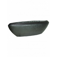 Кашпо Fleur Ami Loft table top vase black, чёрного цвета iron Длина — 30 см Диаметр — 100 см