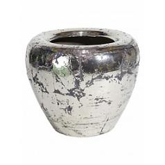 Кашпо Fleur Ami Luxury ancient chrome  Диаметр — 55 см