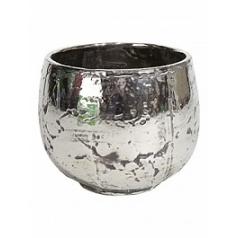 Кашпо Fleur Ami Luxury ancient chrome  Диаметр — 32 см