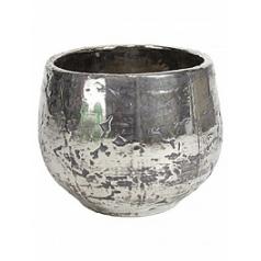 Кашпо Fleur Ami Luxury ancient chrome  Диаметр — 42 см