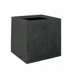 Кашпо Fleur Ami Square anthracite, цвет антрацит Длина — 30 см Диаметр — 30 см