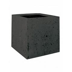 Кашпо Fleur Ami Square anthracite, цвет антрацит Длина — 40 см Диаметр — 40 см