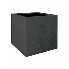 Кашпо Fleur Ami Square anthracite, цвет антрацит Длина — 50 см Диаметр — 50 см