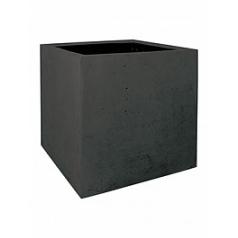 Кашпо Fleur Ami Square anthracite, цвет антрацит Длина — 50 см Диаметр — 60 см