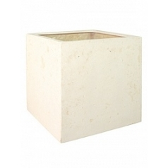 Кашпо Fleur Ami Square cream, кремового цвета Длина — 50 см Диаметр — 50 см