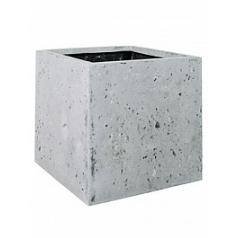 Кашпо Fleur Ami Square grey, серого цвета Длина — 40 см Диаметр — 40 см