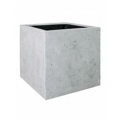 Кашпо Fleur Ami Square grey, серого цвета Длина — 50 см