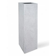Кашпо Fleur Ami Style grey, серого цвета Длина — 33 см