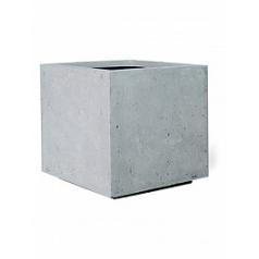 Кашпо Fleur Ami Style top vase grey, серого цвета Длина — 33 см
