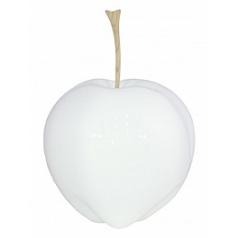Яблоко декоративное Fleur Ami Apple white, белого цвета  Диаметр — 29 см