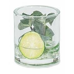 Композиция из искусственных растений mint lime ice  Диаметр — 10 см