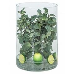 Композиция из искусственных растений mint lime ice  Диаметр — 25 см