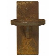 Крепление для настенного Кашпо Fleur Ami Wall cone rusty, ржавая фактура