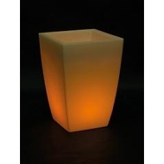 Светящееся Кашпо Fleur Ami Lumenio led planter Длина — 40 см Высота — 57 см