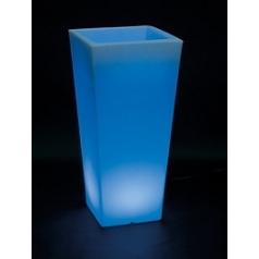 Светящееся Кашпо Fleur Ami Lumenio led planter Длина — 38 см Высота — 80 см