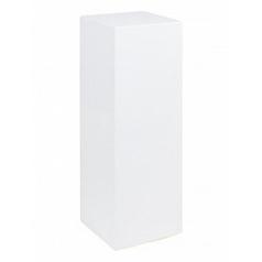 Пьедестал Fleur Ami gloss white, белого цвета Длина — 25 см Высота — 70 см