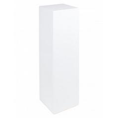 Пьедестал Fleur Ami gloss white, белого цвета Длина — 25 см Высота — 90 см