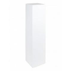Пьедестал Fleur Ami gloss white, белого цвета Длина — 30 см Высота — 120 см