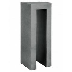 Пьедестал Fleur Ami Royal titanium grey, серого цвета Длина — 35 см