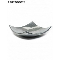 Блюдо Plants First Choice Element aluminium bowl square Длина — 61 см