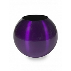Кашпо Plants First Choice Aluminium planter sparkling purple-violet  Диаметр — 49 см